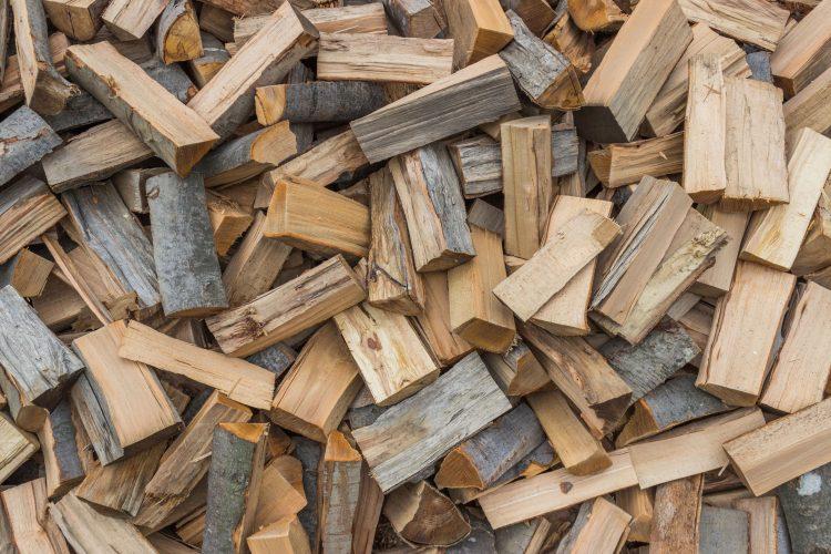Seasoned firewood example
